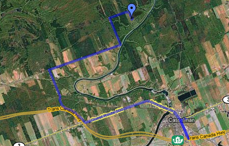 Map to 721 Martel Rd, Casselman (Ontario)